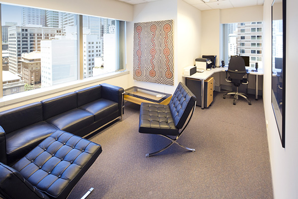 serviced office sydney private and secure with SOI